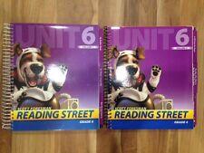 Scott Foresman READING STREET Grade 4, Unit 6 Teacher's Edition Volume 1 & 2 NEW