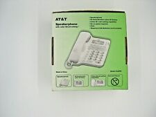 AT&T CL2909 Corded Phone With Speakerphone, Caller Id, & Call Waiting in White