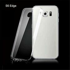 Transparent Phone Case Accessories Silicone Cover for Samsung Galaxy S6 Edge