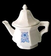 Avon China Teapot Perfumed Candle Holder 1972