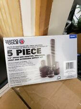 """Matco Tools 5 Piece 1/2"""" Drive ADV Adapter, Universal Joint/Extension Impact Set"""