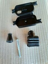 GENUINE PIAGGIO VESPA PX DISC ENGINE JUNCTION BOX WITH SCREW AND 2 RUBBER BOOTS