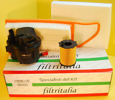 Filtri Tagliando Kit 4 Pezzi Ford Fiesta V 1.4 TDCI