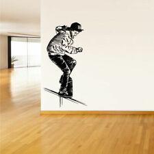 Wall Vinyl Sticker Decal Skate Skateboard Rampa Skaters Board Street (Z2058)