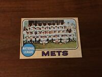 1968 TOPPS BASEBALL NEW YORK METS TEAM TC CARD NOLAN RYAN TOM SEAVER  401 Ex/my