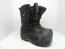 "Dakota Men's 10"" Composite Toe Composite Plate Oil Transitional Boot Black 11M"