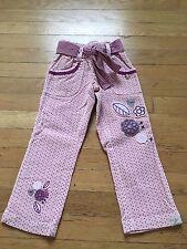 Naartjie girls size 4 Pinny Spot E-Waist Cord Pant