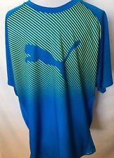 Puma Men's Blue Essentials Logo T-Shirt Size Large NEW