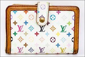 Auth LOUIS VUITTON Portefeuille Viennois Bifold Wallet Multi-Color M92987 #20563