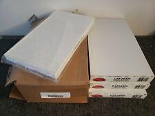 (3) NEW lumber fiber CAF24005 CABIN AIR FILTER