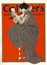 Maxfield Parrish Collier'S MAGAZINE COVER 1979 ORIGINAL VINTAGE advertisingprint