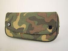 Moderne Camouflage Canvas Pfeifentasche Kombibeutel für 1 Pfeife und Zubehör