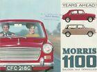 Morris 1100 Saloon & Traveller Brochure  - 1966