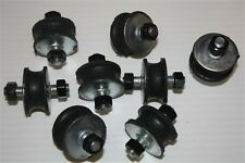 Pack of 8 5/16 Unf Universal Silencer Exhaust Mounting Rubber Mini Bobbin