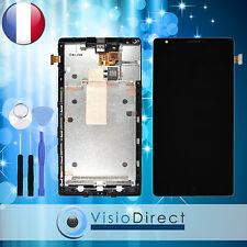 Ecran complet pour Nokia Lumia 1520 Noir vitre Tactile LCD sur Châssis outils