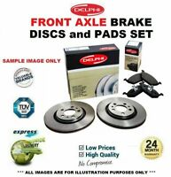 Front Axle BRAKE DISCS + brake PADS SET for IVECO DAILY 60C15V 2006-2011