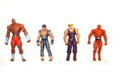 Jazwares Street Fighter Ryu Guile Sagat Seth Loose Action Figure
