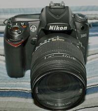 Nikon D D90 12.3MP Digital SLR Camera - Kit with three Sigma AF lens & extras