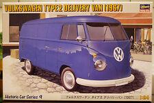 1967 Volkswagen VW descubrimos tipo 2 t 1-VW van Type 2 t 1, 1:24, 21209 Hasegawa