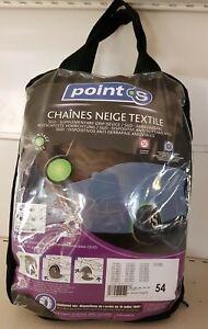 Chaussette chaine neige textile pneu Point S numéro 54 neuve