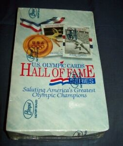 Sealed Impel US Olympic Hall of Fame Series Wax Box