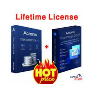 Disk Director 12 & True Image(2019) | Lifetime License Key | Fast Delivery
