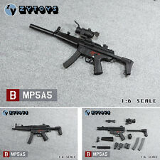 ZYTOYS MP5A5 Submachine gun Can be assembled / firing in bursts / 1/6 FIGURE