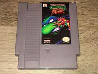 Teenage Mutant Ninja Turtles Tournament Fighters Nintendo Nes Tested Authentic