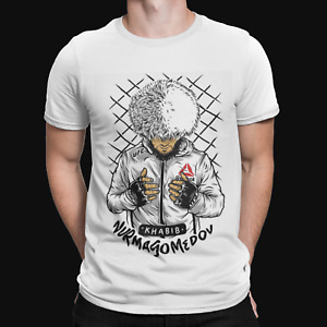 Khabib Nurmagomedov Pray T-Shirt - THE EAGLE Top MMA UFC Unisex Adult Tee Top