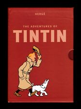 The Adventures of Tintin - 8 volumes integral collector's gift set - Hergé