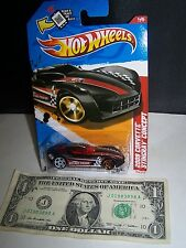 Hot Wheels Black 2009 Corvette Stingray Concept #1 Thrill Racers CityStunts 2012