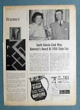Dated Original 1951 Fleischmann Photo Endorsement Ad Mrs Kirkeby of Madison SD