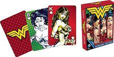 Wonder Woman images (big WW logo) set of 52 playing cards (nm 52288)