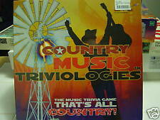 COUNTRY MUSIC TRIVIOLOGIES THE MUSIC TRIVIA GAME