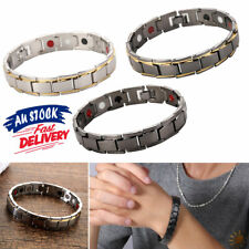 Magnetic Therapy Bracelet Healing Energy Health Bio Anion Unisex Care