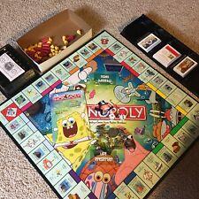 SpongeBob Squarepants Monopoly Board Game Nixk Property Trading Parker Brothers