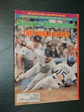 1981 Sports Illustrated Yankees Dodgers World Series **FREE SHIPPING**