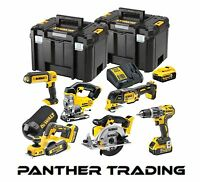 DeWalt 6 Piece XR Compact Wood Working Kit 18V & 3 x 5.0Ah Li-Ion - DCK665P3T