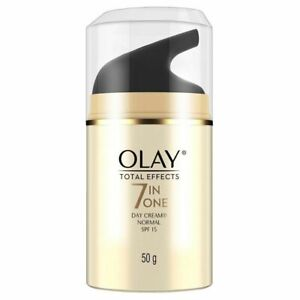 OLAY Total Effects7-In-One Anti-Ageing Day Cream for Normal Skin with SPF15 (50G