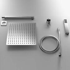 cS Set Doccia quadrato con Soffione 20x20  + Braccio doccia + Kit Duplex by ARES