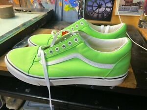 Vans Old Skool Neon Green Gecko Size US 11.5 Men's  New