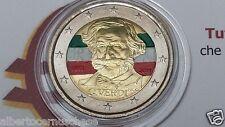 2 euro 2013 Italia color farbe couleur  italie italien italy 200 VERDI II tipo