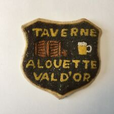 Taverne Alouette Vald'or Beer Patch
