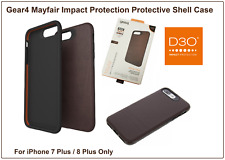 Gear4 Mayfair Brown Shockproof Protective Case Cover for iPhone 7 Plus & 8 Plus