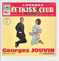 """Georges JOUVIN & DOMINIQUE Disque 45T 7"""" EP LETKISS Trompette d'or EGF 778 RARE"""