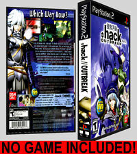 Dot Hack .hack Outbreak Part 3  - PS2 Reproduction Art DVD Case No Game