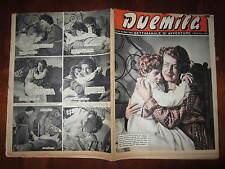 """FOTOROMANZO """"DUEMILA"""" SETTIMANALE DI AVVENTURE NUMERO 45 DEL 11 NOVEMBRE 1951"""