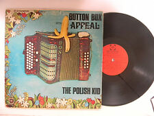 The Polish Kid LP Button Box Appeal   Sound Inc. VG to VG+