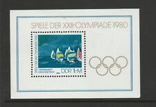 East Germany (DDR) 1980 Olympic Games Moscow mini sheet SG E2250 MNH