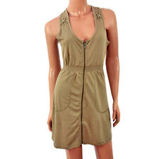 Brave Soul Ladies Size Medium Olive Beach Holiday Pool Summer Sun Dress